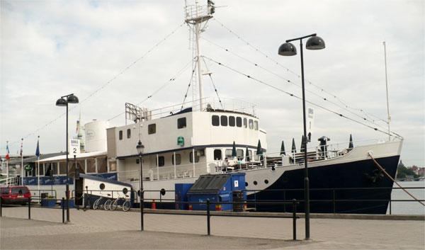 Hostel Boat in Sweden