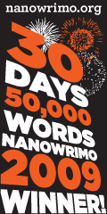 NaNoWriMo Winner 2009