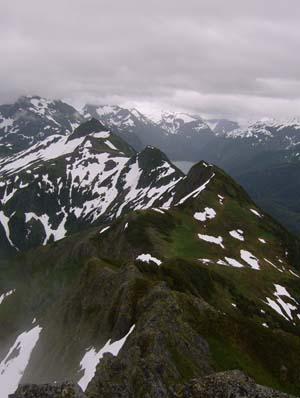 Mountain view in Sitka, Alaska