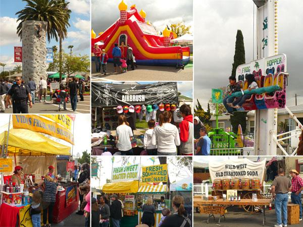 Scenes from the Rolando Street Fair in San Diego