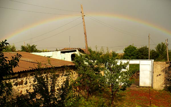 Rainbow in Armenia