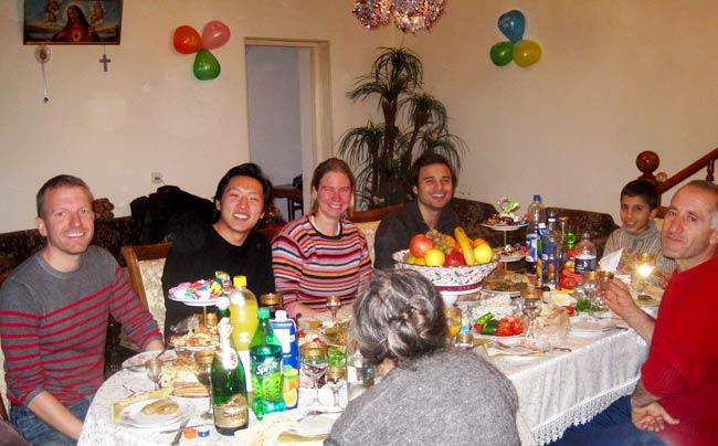 Nor Tari with Friends in Armenia