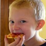 Rodney Eating Pizza