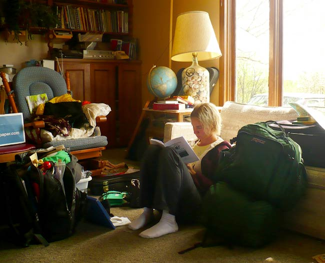 Ev Packing for Peace Corps