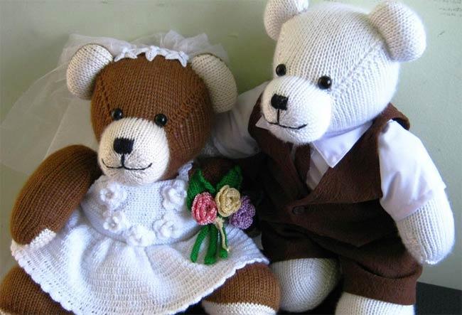 Berd Bears--A Wedded Couple