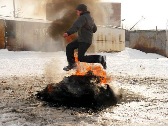 Fire Ceremony Day in Armenia
