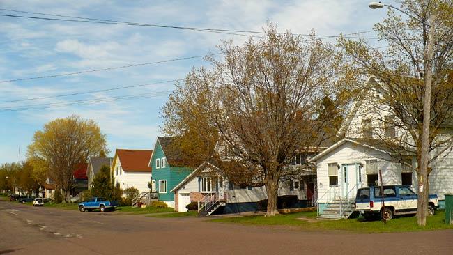 Street in Rural Upper Michigan