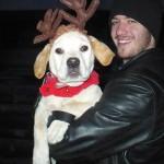 Charlie the Reindeer Dog