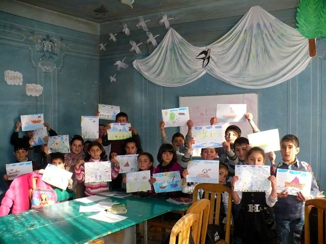 Armenian Kids' Drawings