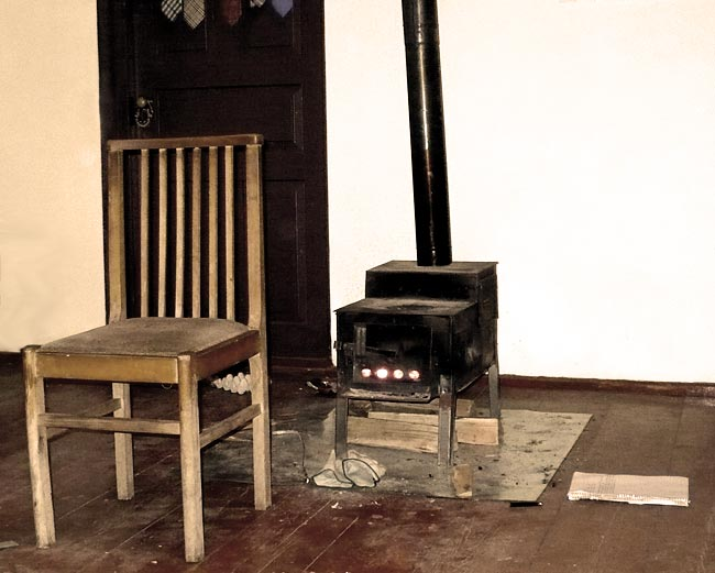 Stark Winter Armenian Stove
