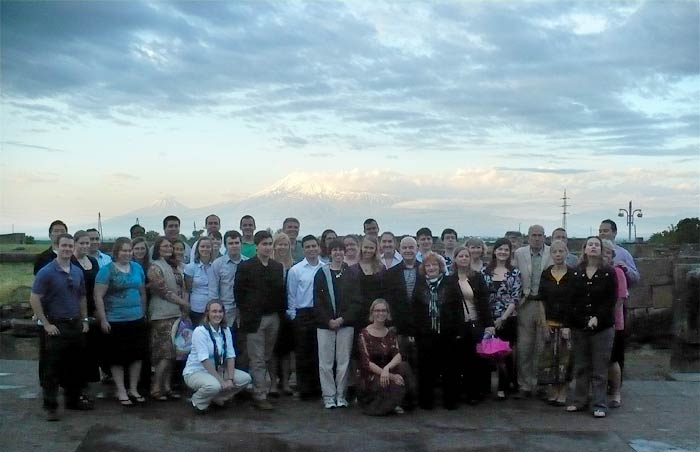 Peace Corps Volunteers' First Day in Armenia