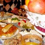 Food Table Nor Tari Armenia