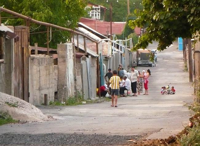 Village Street in Armenia