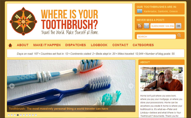 Where's Your Toothbrush?