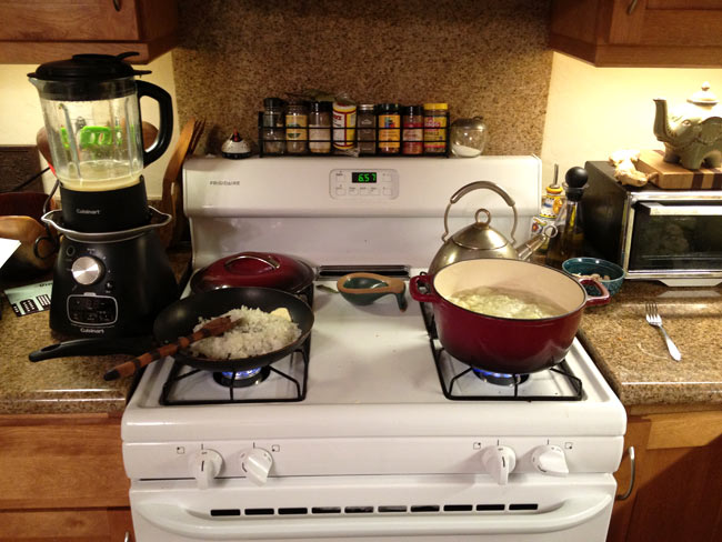 Cooking on the Stovetop