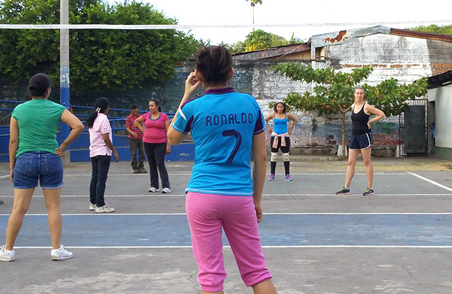 Volleyball in Nicaragua