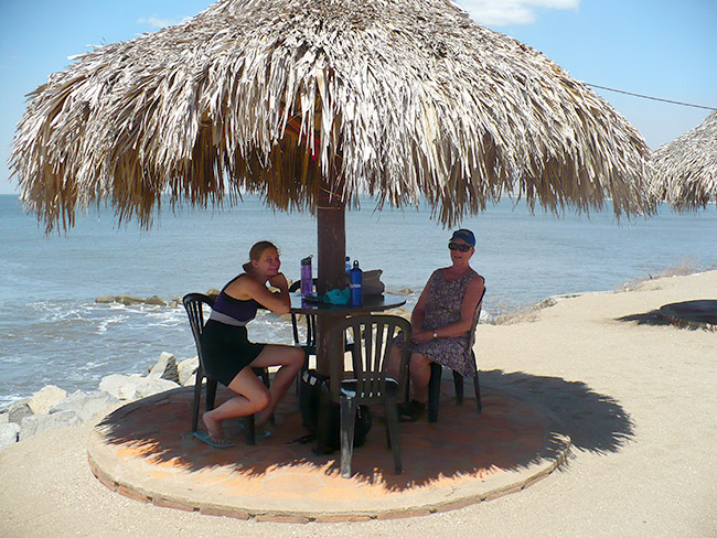 Shade at Corinto Beach