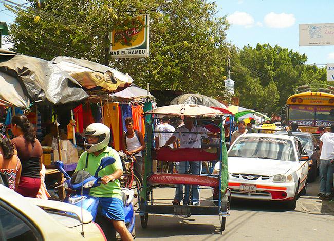 Traffic in Leon