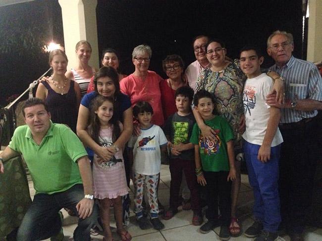Family Dinner in Nicaragua