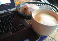 Latte and Scone—two things that I know work for me. ;)
