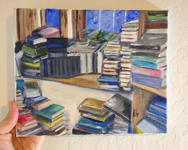 """Book Stacks"""