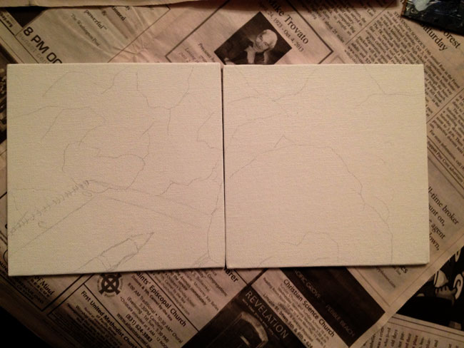 Crumpled Sketch
