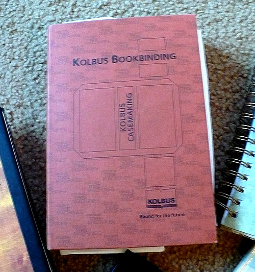 Kolbus Book Binding—A journal that took 9 years to fill up.